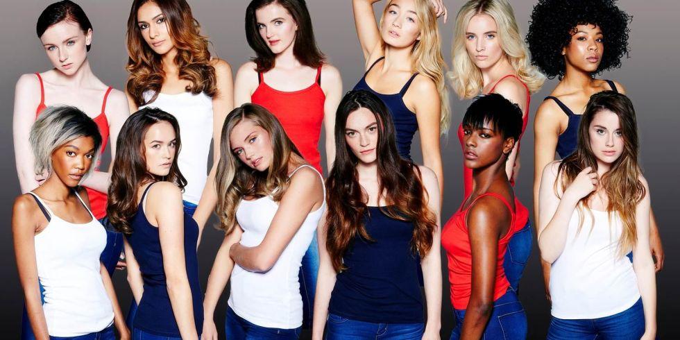 Britain s next top model boobs