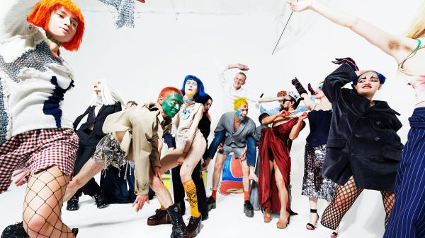 HITTING THE CLUB LIKE POP ICONS: BRING THE NIGHT BACK WITH CHARLES JEFFREY'S LOVERBOY