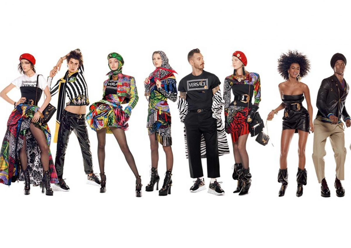 Versace and its longest advertising image campaign ever made.