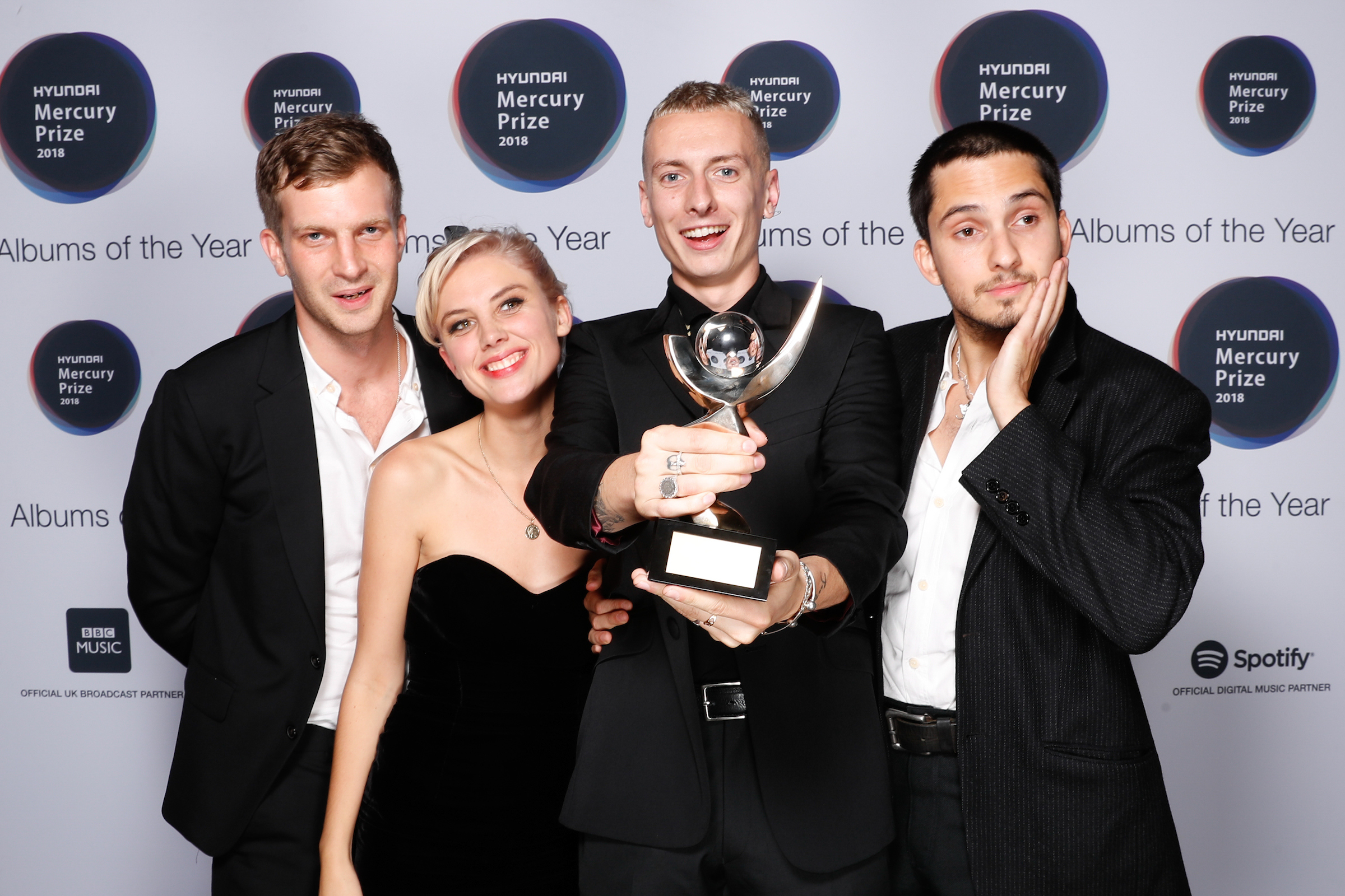WOLF ALICE TAKE HOME THE 2018 MERCURY PRIZE FOR VISIONS OF A LIFE